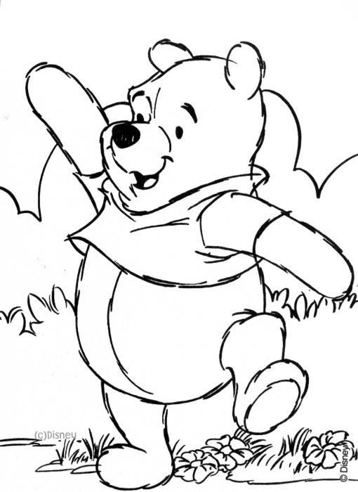 Malvorlagen 3 - Beas Winnie Pooh