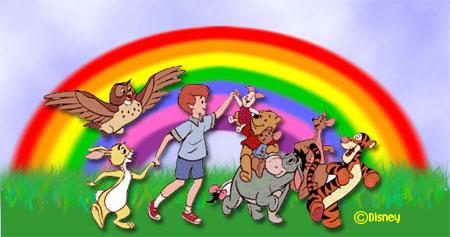Lernen - Farben - Beas Winnie Pooh