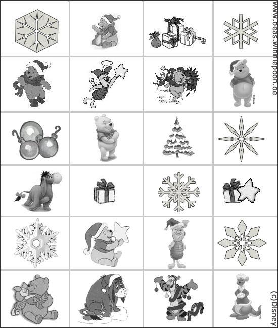 weihnachtsbasteln adventskalender beas winnie pooh. Black Bedroom Furniture Sets. Home Design Ideas