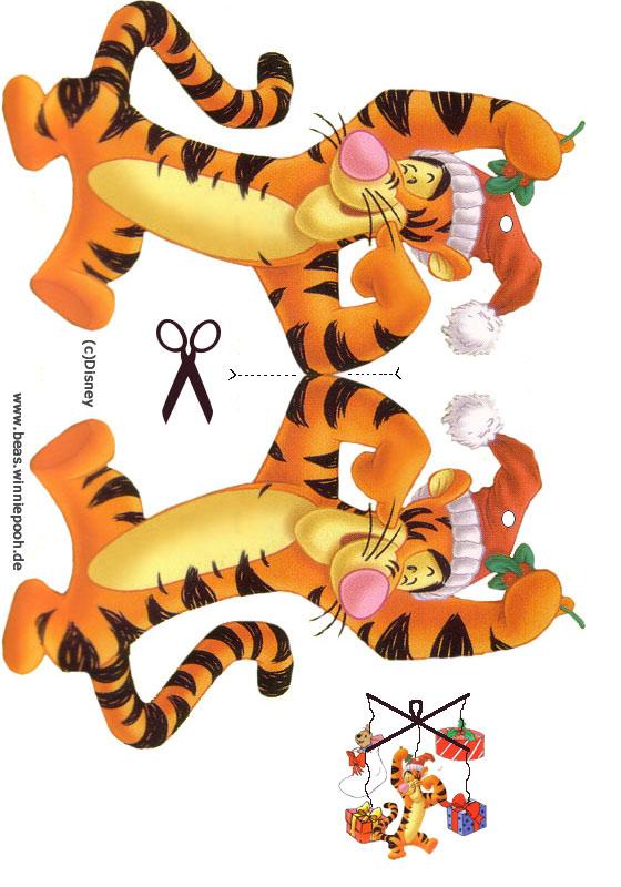Weihnachtsbasteln - Mobile - Beas Winnie Pooh