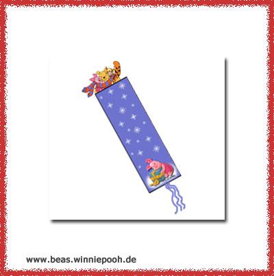 weihnachtsbasteln lesezeichen beas winnie pooh. Black Bedroom Furniture Sets. Home Design Ideas