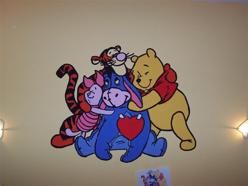 Winnie Pooh Wandbilder Malvorlagen   My blog